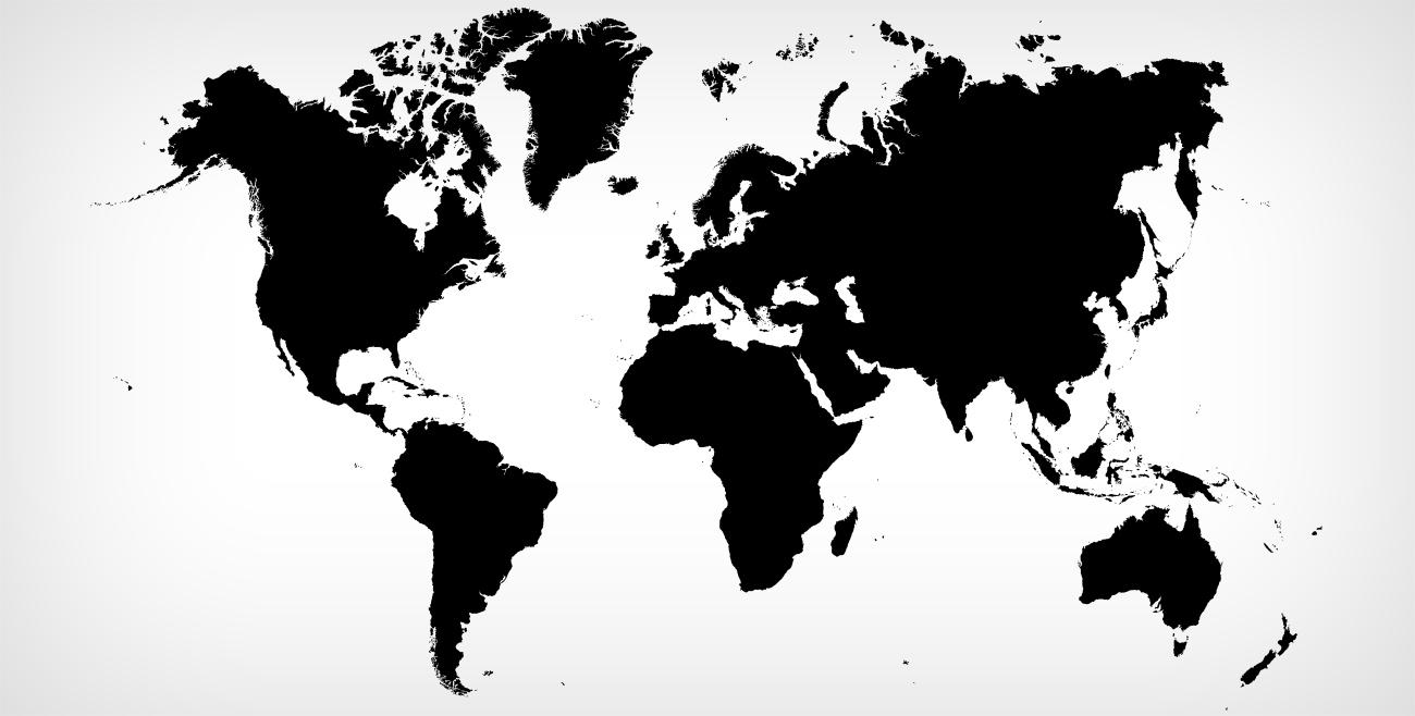 tek-parca-vektorel-dunya-haritasi