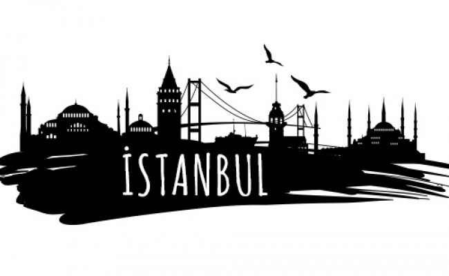 vektorel-istanbul-silueti-ozel