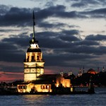 Akşam Kız Kulesi