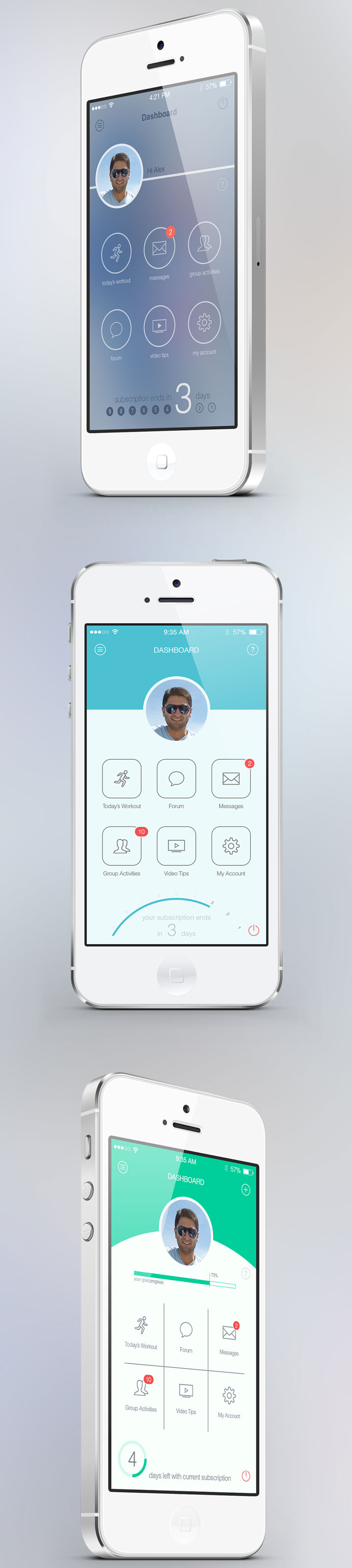 Fitness-App-uygulama