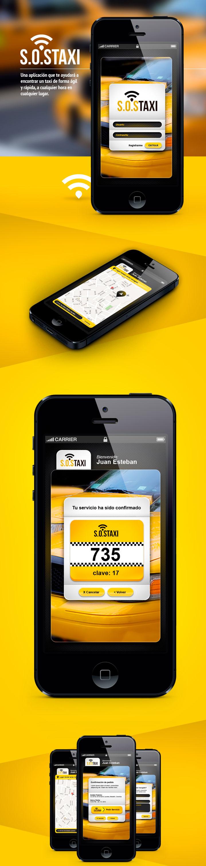 S.O.S-Taxi-App