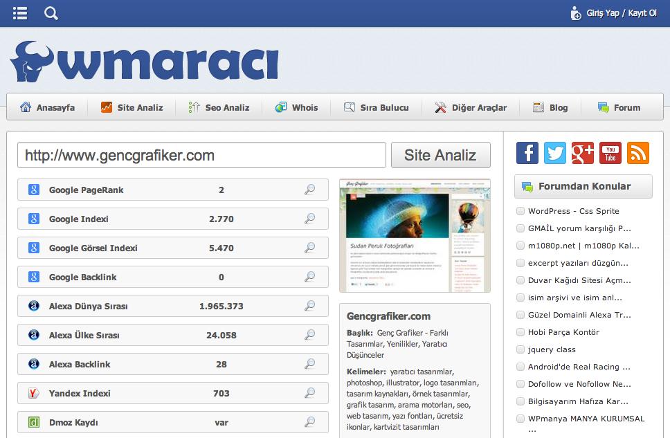 wmaraci-istatistik-sitesi