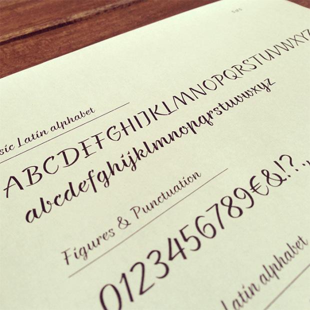 Türkçe font braxton