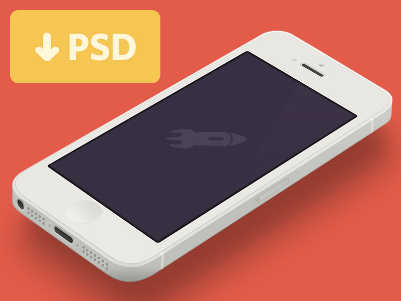 minimal-iphone-5-template-dribbble