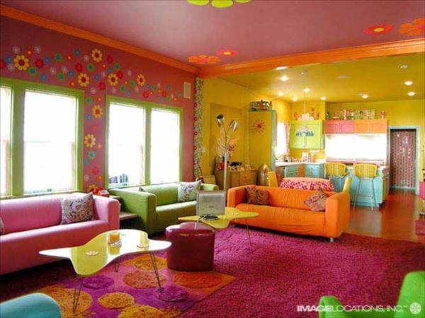 rengarenk-evler