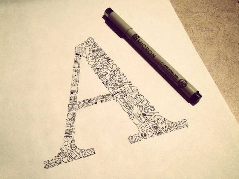 tipografik-calismalar-ikonlar