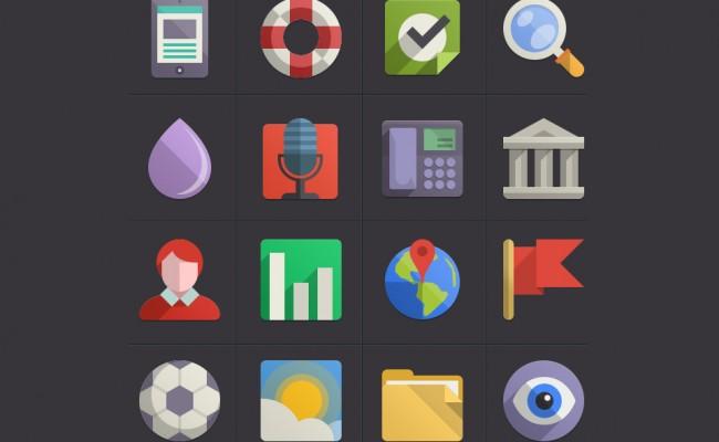 64-adet-flat-renkli-ikon-tasarimi