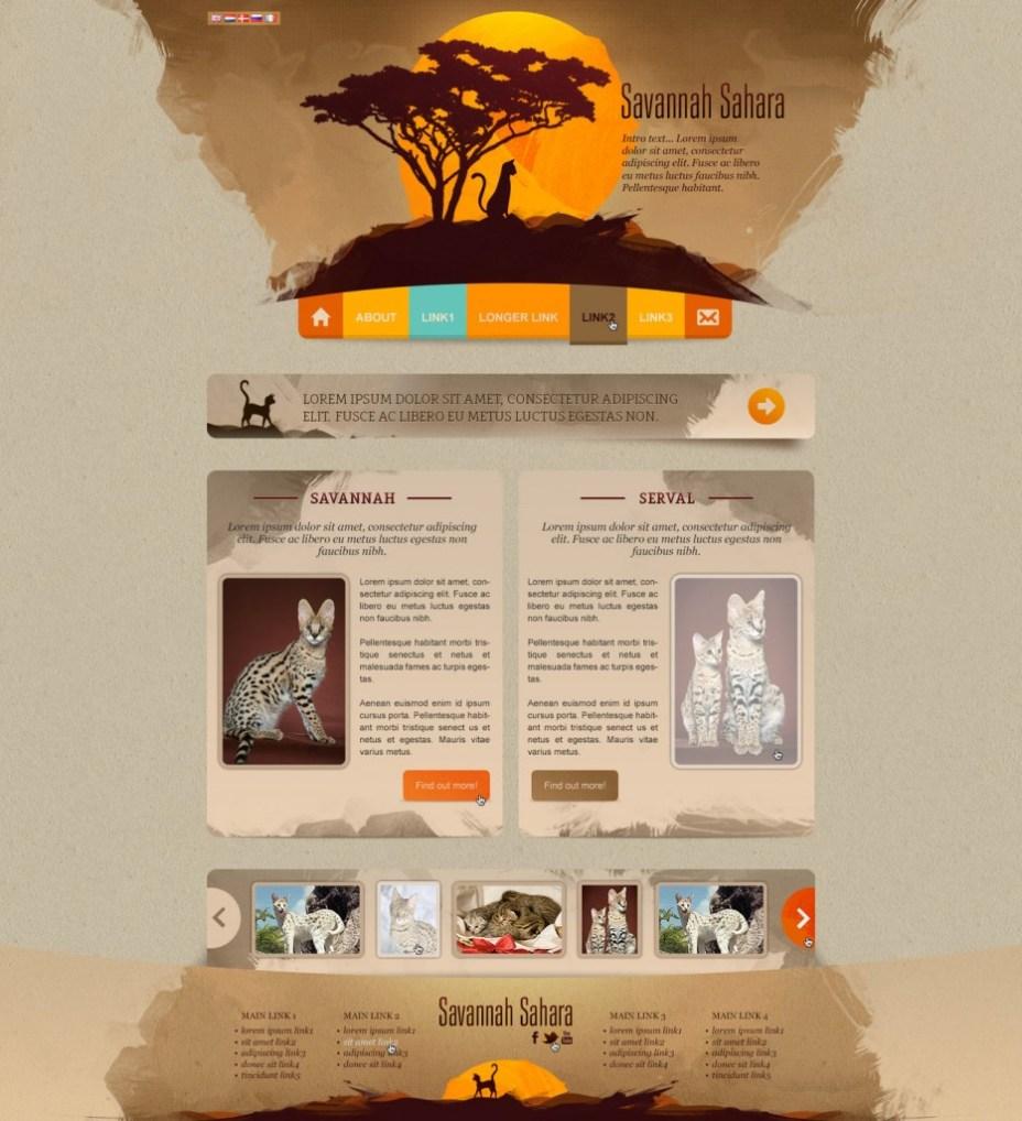 afrika-ve-kum-rengi-siteler