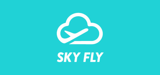 kreatif-logo-ornekleri-sky-fly