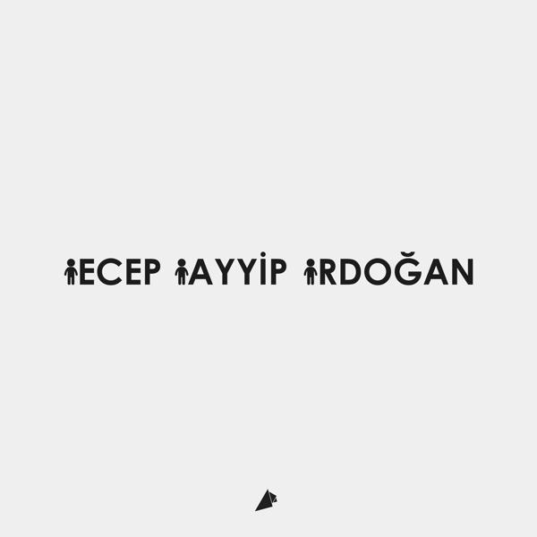 minimalist-recep-tayip-erdogan