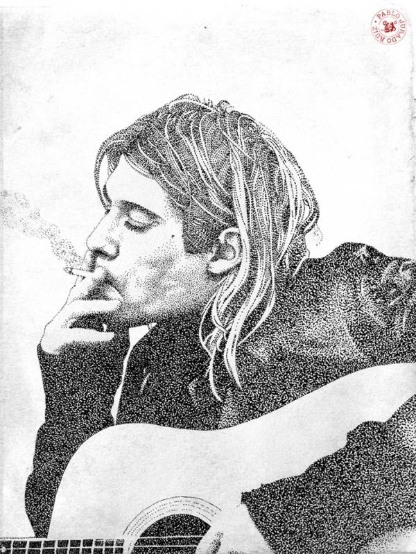 noktaciklardan-portre-cizimi-gitarist