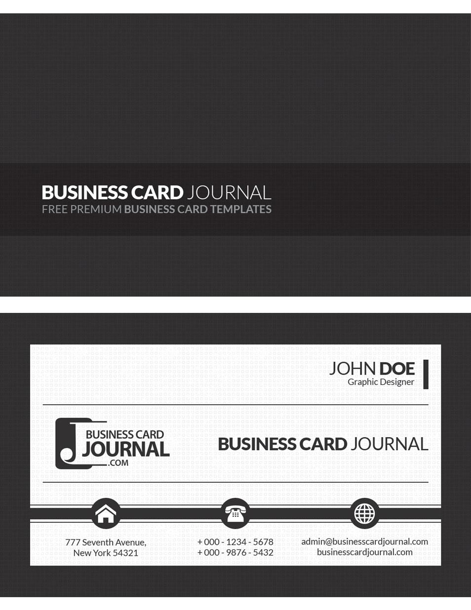 siyah-beyaz-kartvizit-tasarimlari