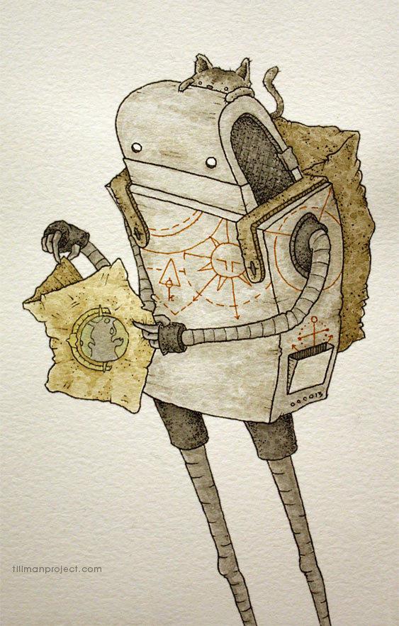 suluboya-ile-robot-adam