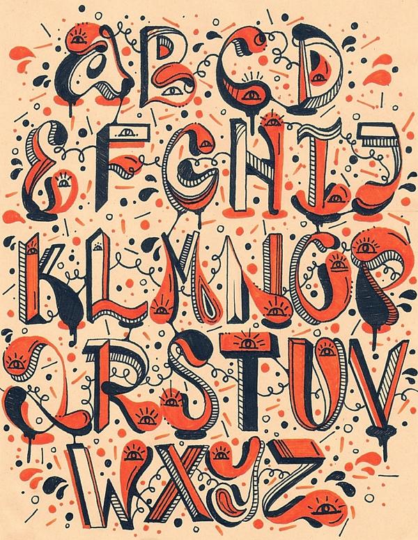 tipografik-harfler