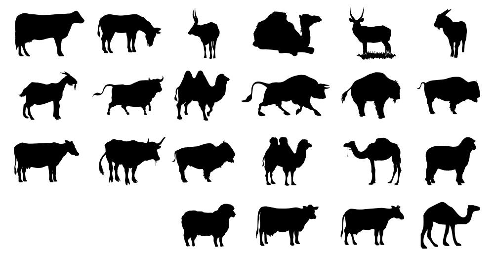 vektorel-kurbanlik-hayvanlar