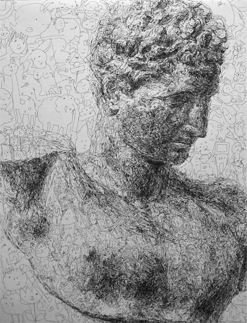 Hermes-heykel-cizimi-1