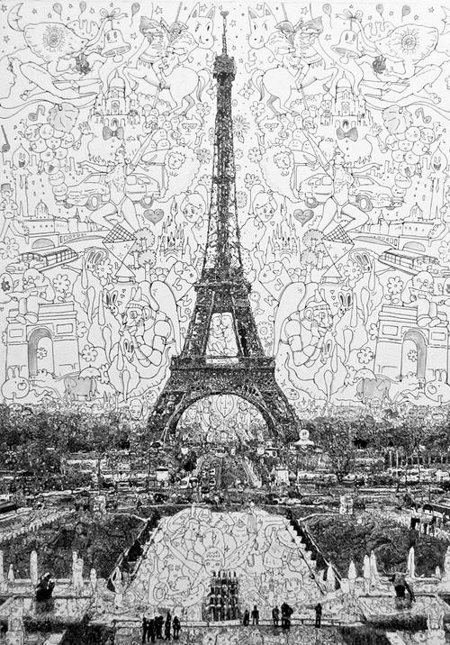 Paris-eyfel-kulesi-cizimleri-1