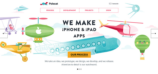 Polecat_Agency-site-tasarimlari
