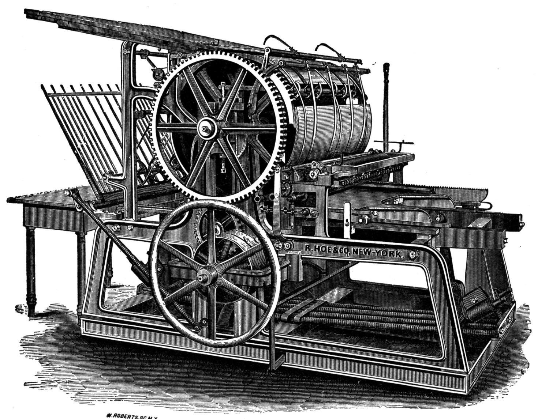 matbaada-kullanilan-ilk-makineler
