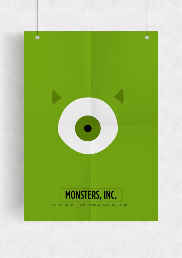 monster--minimal-poster