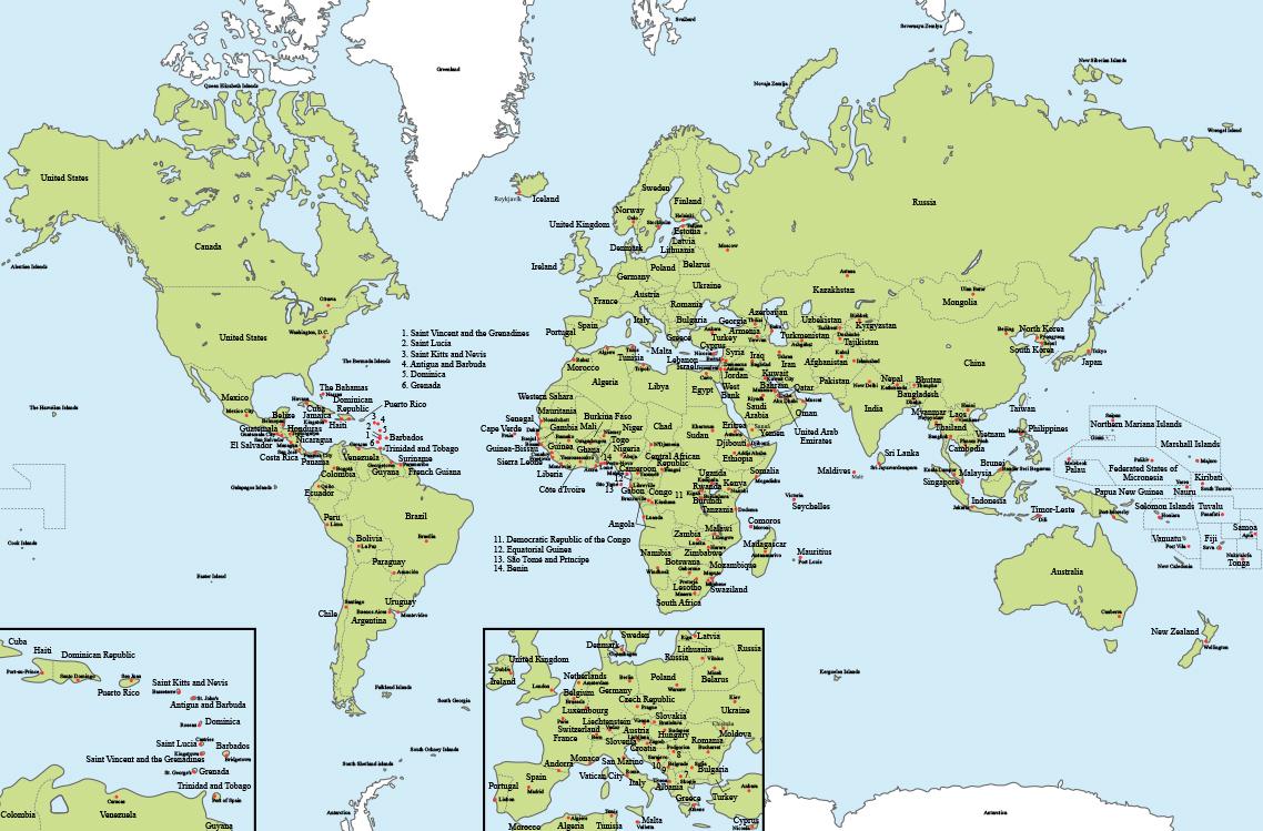 vektorel-tunya-haritasi-ingilizce