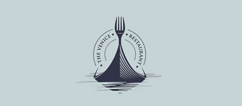 venedik-restoran-logo-tasarimi