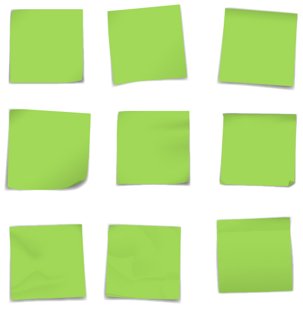 yesil-post-it-kagitlari