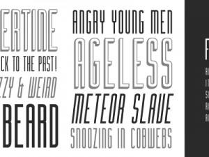 Tipografi çalışmalarınız için yazı tipi