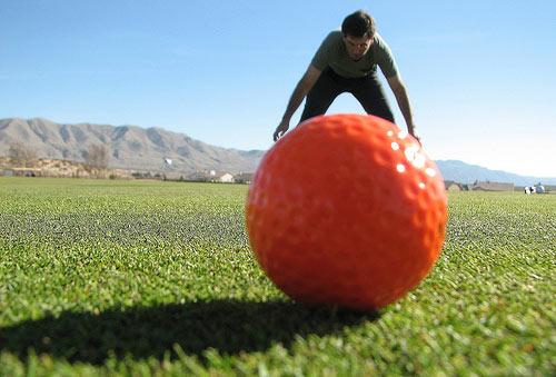 golf-topu-fotografta-perspektif