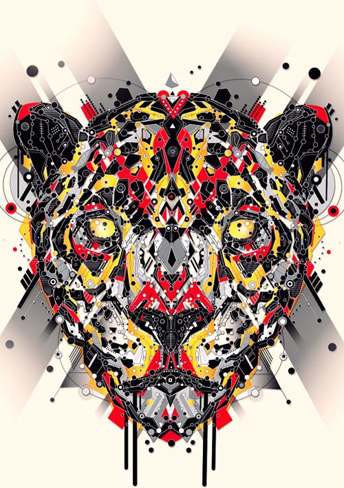 sekiller-ile-karakter-cheetah-yellow-red