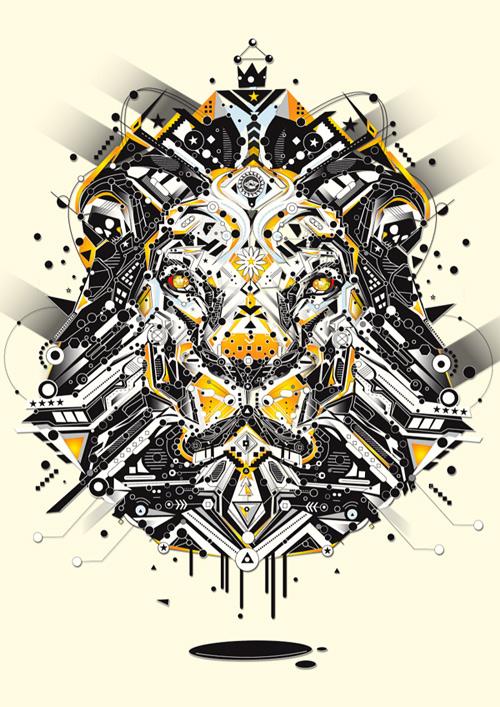 sekiller-ile-karakter-lion-yellow