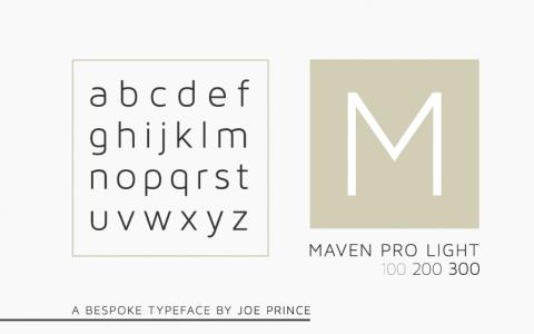 Port vintage fontu ile harika tasarımlar