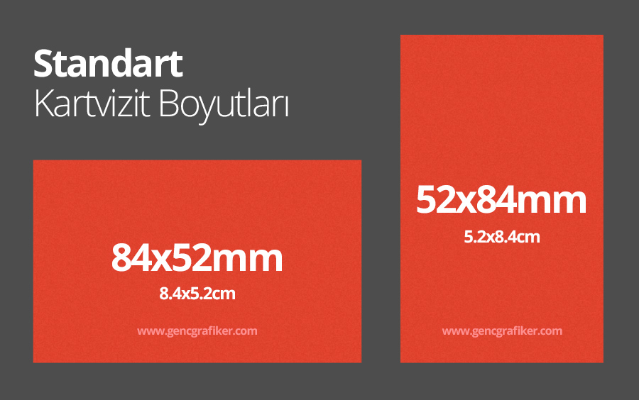 standart kartivizit boyutlari