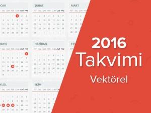 2016-takvimi