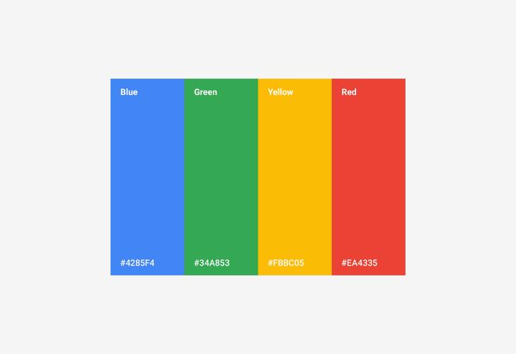 google-renk-kodlari